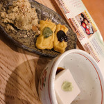 中央食堂・さんぼう - 胡麻豆腐もオカラも懐かしい優しい味
