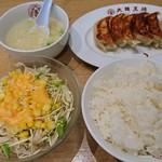113424531 - 餃子定食