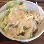 串揚げじゅらく - サラダ