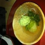 さく間 - 新作。つくね❤ 緑なのはニラ