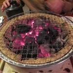 おさだ - 焼き蟹の炭火