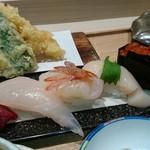 に志づ可 - 天ぷらと寿司