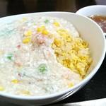 口福厨房 - 料理写真:「蟹あんかけチャーハン」
