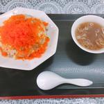 丸鶴 - とび子チャーハン 850円