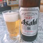 丸鶴 - 瓶ビール 大瓶 700円 アサヒスーパードライ