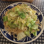 PILIPILI - キャベツとアンチョビのスパゲッティ