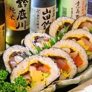 寿司・造りと相性バツグンの地酒の数々