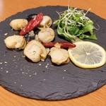 アンリヴァージュ - ホタテの燻製オイルマリネ