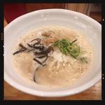 鶏白湯 しら川 - コク濃しら川ラーメン 950円