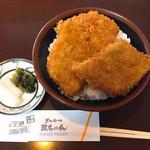 とんかつ政ちゃん - 料理写真:三枚かつ丼