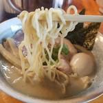 鳥そば 豊屋 - 麺リフト
