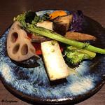 Yui - 季節の野菜のグリル