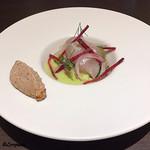 Yui - 皮剥のマリネ Sauce Vert