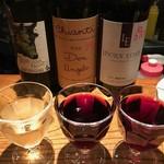 活力魚金 - ドリンク写真:がぶ飲みワイン各種¥590