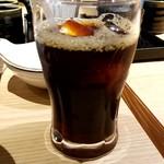 生 本まぐろ 一心 - アイスコーヒー