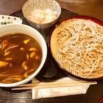 蕎酎 - 料理写真:カレーそば(冷)  800