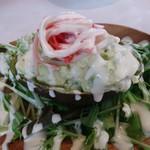 バール ヴィータ - アボカドクラブサラダ