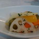 バール ヴィータ - お野菜のピクルス
