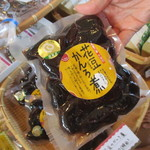 花の駅・片品 花咲の湯 おみやげコーナー&ジェラートコーナー - 花豆のかんろ煮!