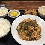 Hanaya - 香る四川麻婆豆腐セット