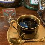 自家焙煎珈琲 蘭館 - イブラヒムモカをネルドリップでいただきました