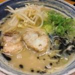 麺屋 一 - らー麺(黒にんにく塩)