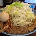 ふえ木 - ふえ郎ラーメン(700円)大盛(+100円)+メルマガ見たよコールで味玉サービス