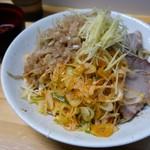 夢を語れ - 料理写真:小林アイススペシャル・辛いアブラ(850円)