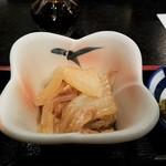魚と旬の料理 まる - 小鉢 煮物