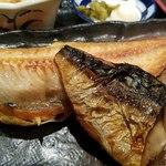 魚と旬の料理 まる - 焼き魚は