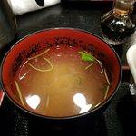 魚と旬の料理 まる - お味噌汁