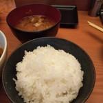 113469692 - 汁が 焼豚スープから豚汁になってる!