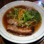 ちゅるるちゅーら ら・みぃえん - 2012年1月 ちゅるチュラ(魚介豚骨ラーメン)660円