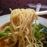 ちゅるるちゅーら ら・みぃえん - 2012年1月 麺は細麺ストレートです