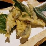 魚我志 むさし - 稚鮎の天ぷら