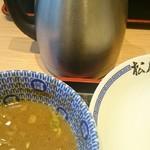 松戸富田製麺 - スープ割りが出来ます。
