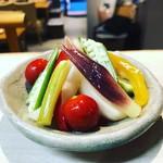 焼肉 あうん - 料理写真:夏野菜のピクルス