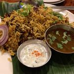 南インド食堂 ビーンズ オン ビーンズ - マトンビリヤニ