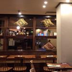 南インド食堂 ビーンズ オン ビーンズ - おしゃれな店内インテリア