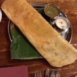 南インド食堂 ビーンズ オン ビーンズ - パニールドーサ