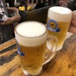 大御所酒坊 - 2019年8月12日  生ビール(キリン一番搾り)450円