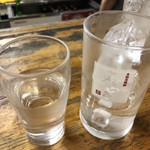 大御所酒坊 - 2019年8月12日  芋焼酎(ロック)300円