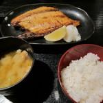 浩太郎丸 - 焼いたマスの定食