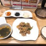 吾照里 - ◆スタミナカルビセット 500 ◆納豆 100