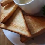 コーヒー ハウス サンヨー - 薄切りバタートースト