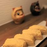 かくだい - 料理写真:(関東+関西)÷2、な感じの玉子焼き♡