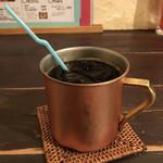 ブルー ファー ツリー - アイスコーヒー♪  (セットの場合+300円)