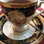 ヴィネット - 紅茶のカップ。あんまり感じたことない香りのアールグレイだった。