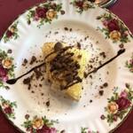 ヴィネット - バナナのクレープチョコレートクッキー添え。クレープはもちろんクッキーが美味しかったー