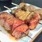 ミツワ - アブラ 110円 レバ  110円 肉ダンゴ  150円